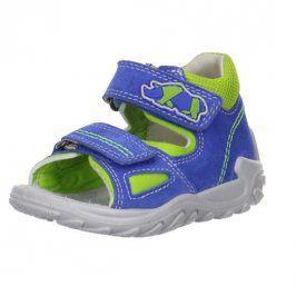 chlapecké sandály FLOW světle modrá 24