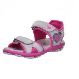dívčí sandály NELLY 1 šedá 30