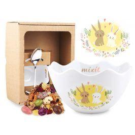 Mixit Miska se zajíčky v dárkovém boxu (bez tubusu)
