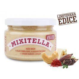 Mixit Mixitella - Kešu s bílou čokoládou a kakaovými boby + 11 druhů koření a bylin