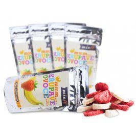 Mixit Křupavé ovoce do kapsy - Banán + Jahoda (5 ks)