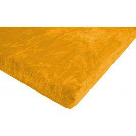 JAHU Prostěradlo Mikroplyš 90x200 cm žlutá