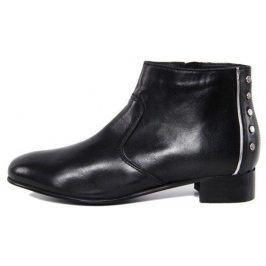 Kožené kotníkové boty Giorgio Picino