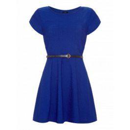 Dámské šaty RA091BLUE 12