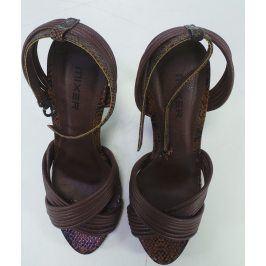 Sandálky Mixer, hnědé