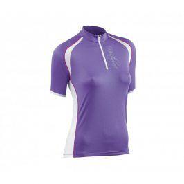 Dámský cyklistický dres Northwave Crystal, fialový