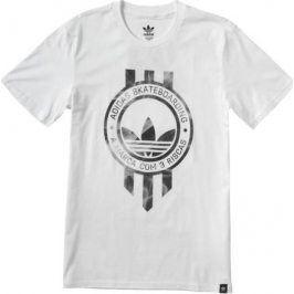 Pánské tričko Adidas originals Smoke Banner M, bílé