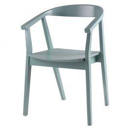 Sada 2 mentolových jídelních židlí Somcasa Donna