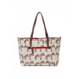 Pink Lining Přebalovací kabelka/taška NOTTING HILL, zebry