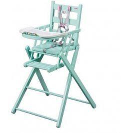 Combelle Rozkládací jídelní židlička, zelená