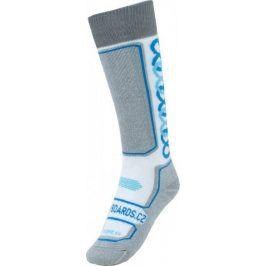 S1 Podkolenky Socks Junior White