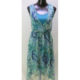Dámské šifónové šaty ChillyTime, tyrkysové
