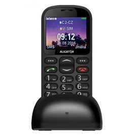 Mobilní telefon Aligator A880, černý