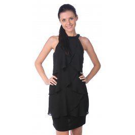 Dámské šaty se vzorem Desigual, černé
