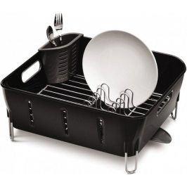 SIMPLEHUMAN Odkapávač na nádobí Compact černá