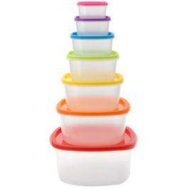 CERAMICBLADE Plastové nádoby na potraviny 7 ks