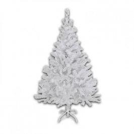 Umělý Vánoční stromeček ABC smrk 90 cm s osvětlením bílý