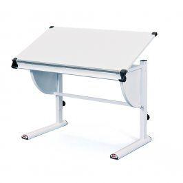 Halmar Dětský rostoucí psací stůl CETRIX - bílý