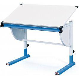 Halmar Dětský rostoucí psací stůl CETRIX - bílo-modrý