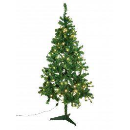 Europalms Umělý vánoční stromek s LED bílými žárovkami, 180 cm