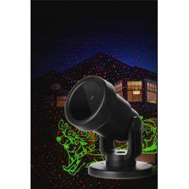 EuroHit Vánoční laserový projektor - tématické obrázky - 20 x 20 m s časovačem PZP-88574