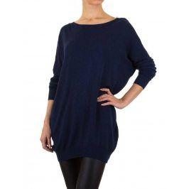 Dámský stylový prodloužený svetr