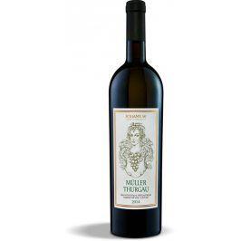 Zámecké vinařství Třebívlice Muller Thurgau jakostní víno s přívlastkem 2014 0.75l
