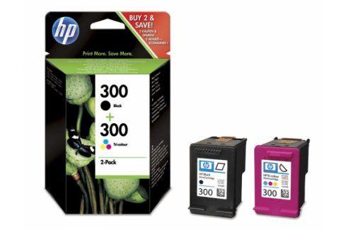 HP CN637EE, combo pack ( HP CC640EE + HP CC643EE) - originál Originální náplně pro inkoustové tiskárny Hewlet Packard