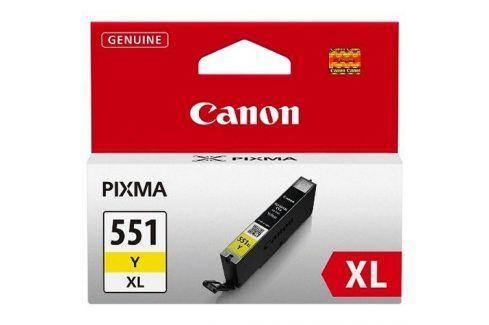 Canon CLI-551Y, XL - originál Originální náplně pro inkoustové tiskárny Canon