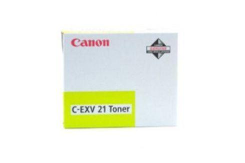 Canon C-EXV 21, Yellow - originál Originální tonery pro laserové tiskárny Canon
