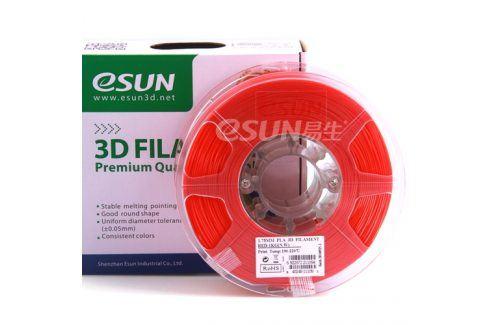 Tisková struna Esun3d CZ, ABS, 1,75 mm, Červená, 1kg /role, (ABS175RD1) 3D Tiskové struny ABS