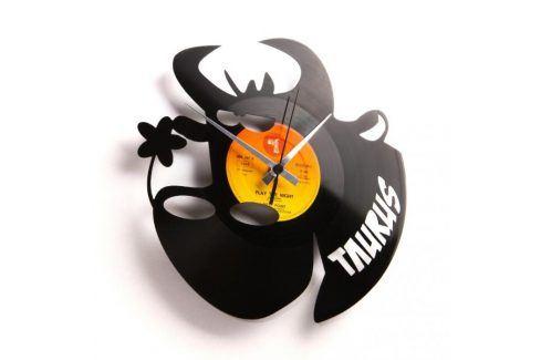 Designové nástěnné hodiny Discoclock Z02 Býk 30cm Hodiny