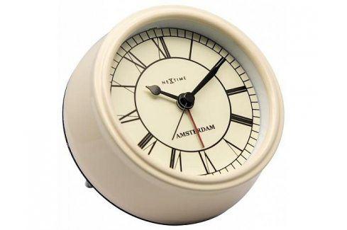 Designové stolní hodiny 5199cr Nextime Small Amsterdam 11cm Hodiny