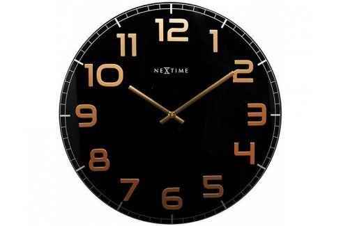 Designové nástěnné hodiny 8817bc Nextime Classy round 30cm Hodiny