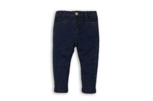 Kalhoty dívčí džínové elastické modrá 80/86 Kojenecké kalhoty a šortky