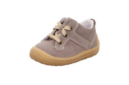 dětské polobotky SATURNUS béžová 18 Dětská obuv