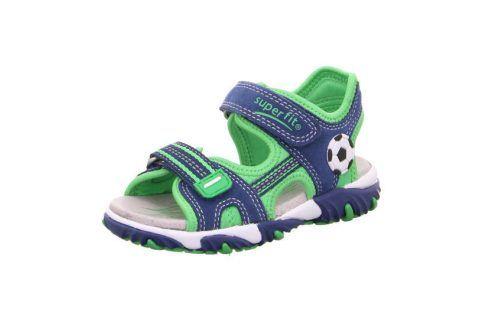 chlapecké sandály MIKE 2 zelená 29 Dětská obuv