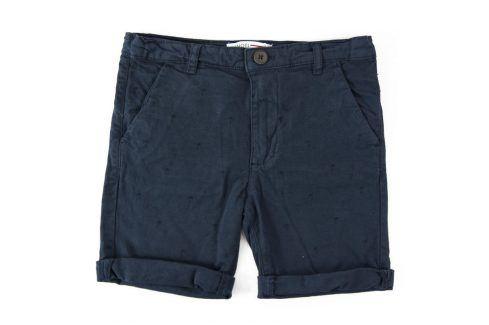 Kraťasy chlapecké modrá 116/122 Dětské šortky