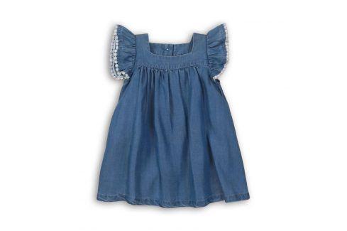 Šaty dívčí modrá 80/86 Kojenecké šatičky a sukně