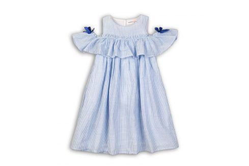 Šaty dívčí modrá 98/104 Šaty, sukně