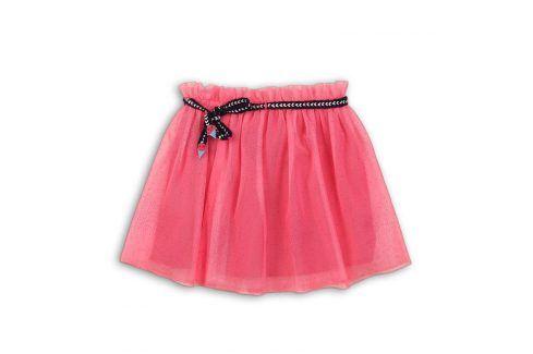 Sukně dívčí růžová 116/122 Šaty, sukně