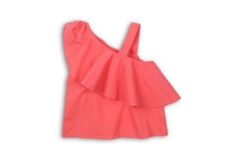 Tílko dívčí růžová 128/134 Trička a košile