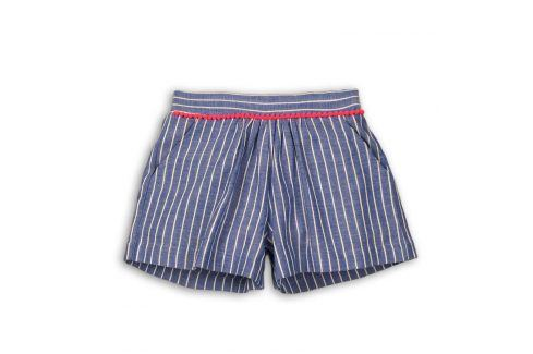 Kraťasy dívčí modrá 122/128 Dětské šortky