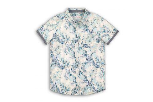 Košile chlapecká světle modrá 104/110 Trička a košile