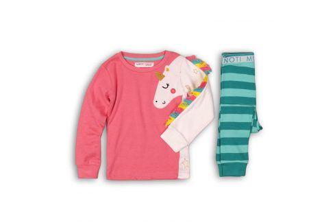 Pyžamo dívčí růžová 122/128 Dětská pyžama a košilky