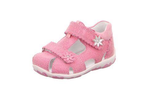 dívčí sandálky FANNI růžová 19 Dětská obuv