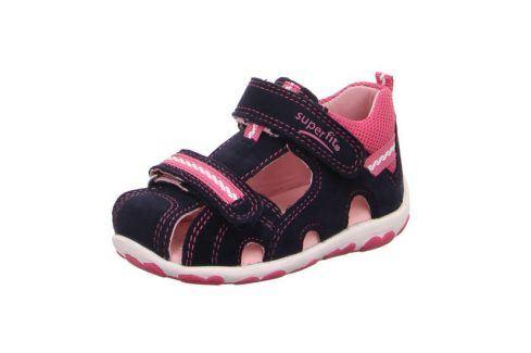dívčí sandály FANNI růžová 21 Dětská obuv