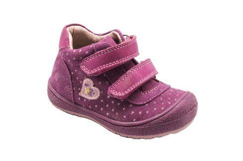 boty celoroční fuchsia 24 Dětská obuv