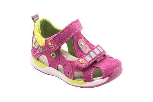 dětské sandály růžová 20 Dětská obuv