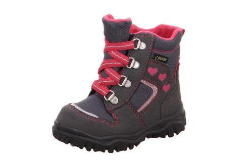 zimní boty HUSKY šedá 26 Dětská obuv